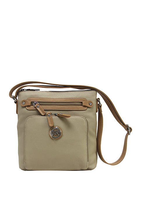 Kim Rogers® Front Zip Around Crossbody
