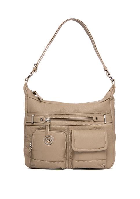 Kim Rogers® Portofino Double Entry Shoulder bag