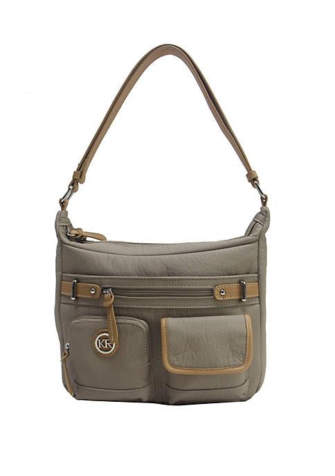 Kim Rogers® Portofino Double Entry Hobo Bag