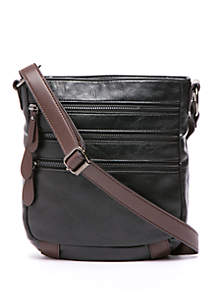 Zipper Crossbody