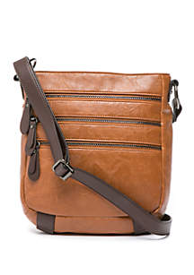 Zipper Crossbody