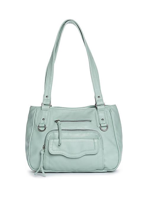 Bueno Nouveau Pebble Washed Shoulder Bag