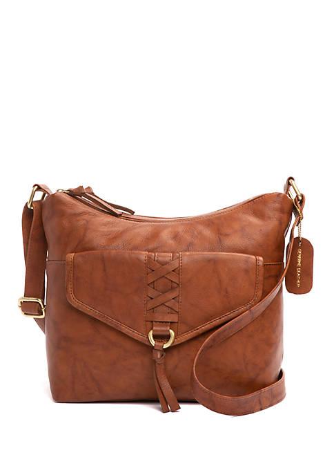 Bueno Double Hobo Crossbody Bag