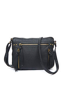 Antique Pebble Zip Mini Bag