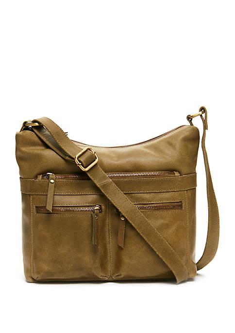 Double Zip Hobo Bag