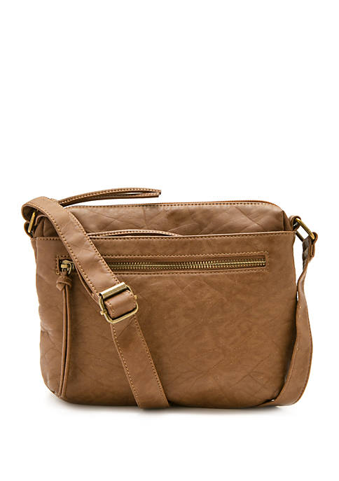 Bueno Elephant Washed Pockets Crossbody