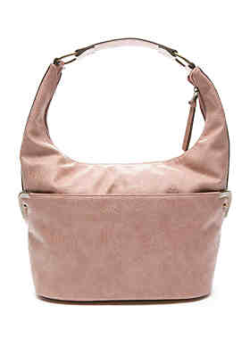 Bueno Embossed Hobo Bag Bueno Embossed Hobo Bag 41c2f2232bf6d