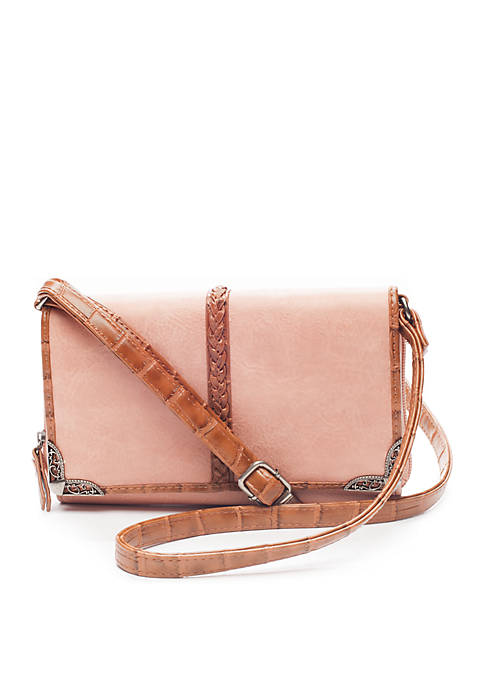 Bueno Mixed Media Crossbody