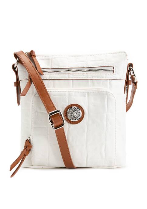 Bueno Top Zip Crossbody Bag