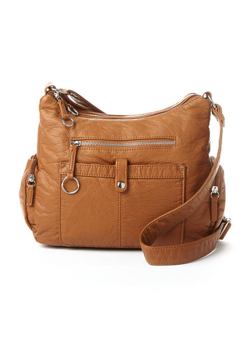 Bueno Large Multi Pocket Hobo Bag