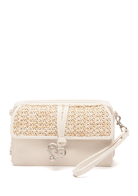 Bueno Bella Straw Crossbody