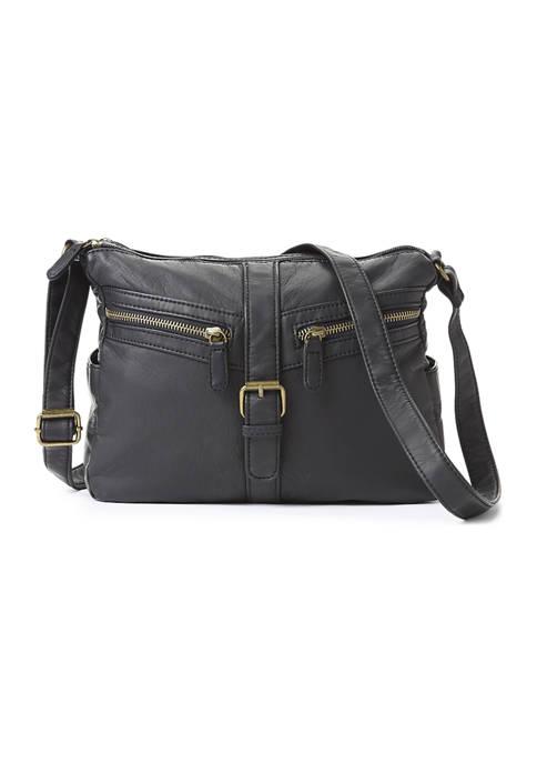 Bueno Small Buckle Tab Crossbody Bag