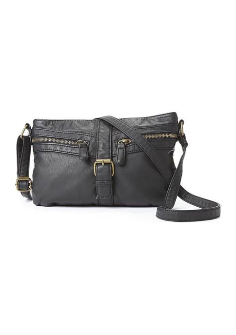 Bueno Buckle Tab Crossbody Bag