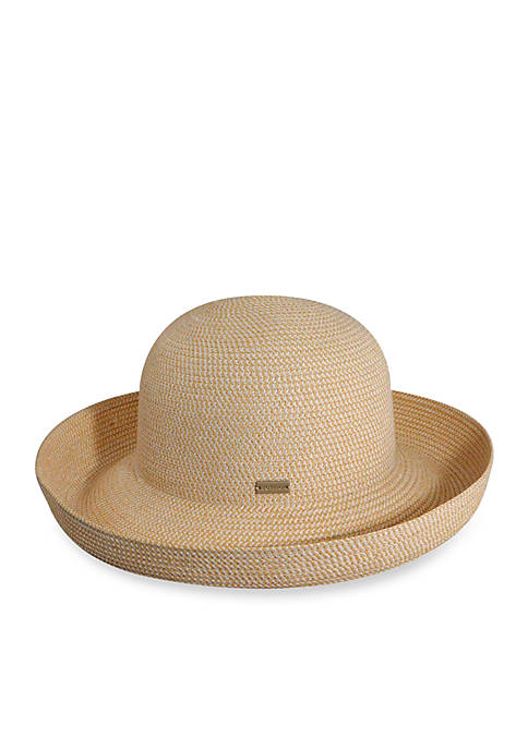 Straw Roll-Up Hat