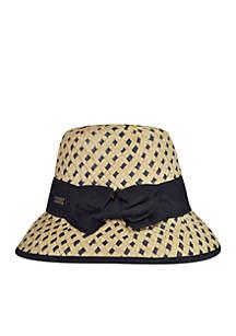 Bridgitte Straw Bucket Hat