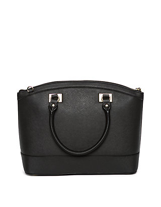 b86d1b507 ... Anne Klein New Recruits Large Dome Satchel ...