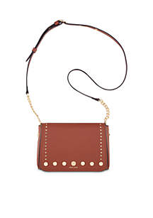 Toggle Chain Studded Crossbody