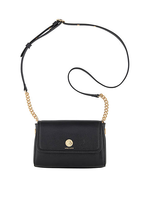 Anne Klein Chain Toggle Crossbody
