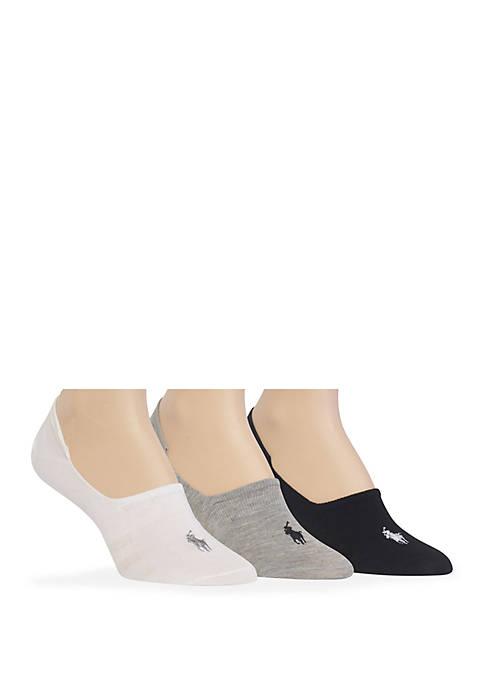 Polo Ralph Lauren Flat Knit Sneaker Liner Socks