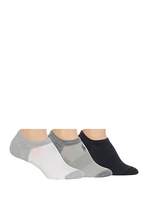 Polo Ralph Lauren Marled Microfiber High Cut Sock