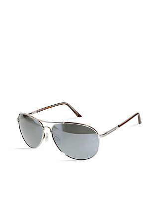 b80c0dcb21d43 Dockers® Silver Aviator Sunglasses