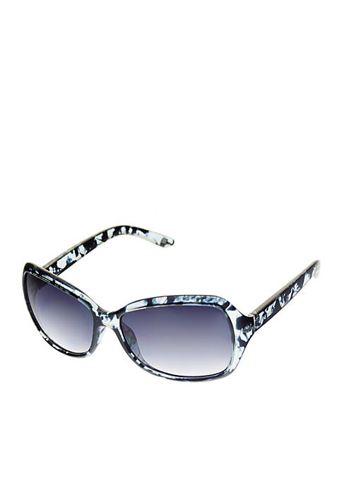 Large Rectangle Wrap Sunglasses
