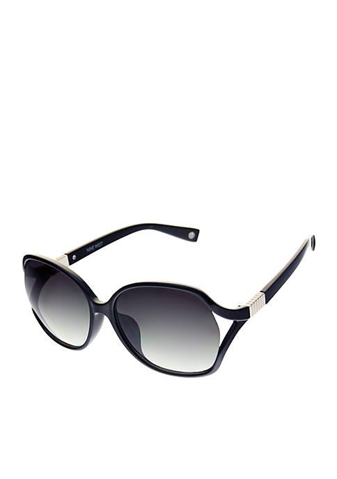 Large Vented Wrap Sunglasses