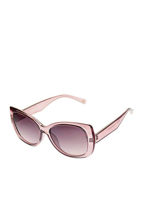 Flared Rectangle Sunglasses