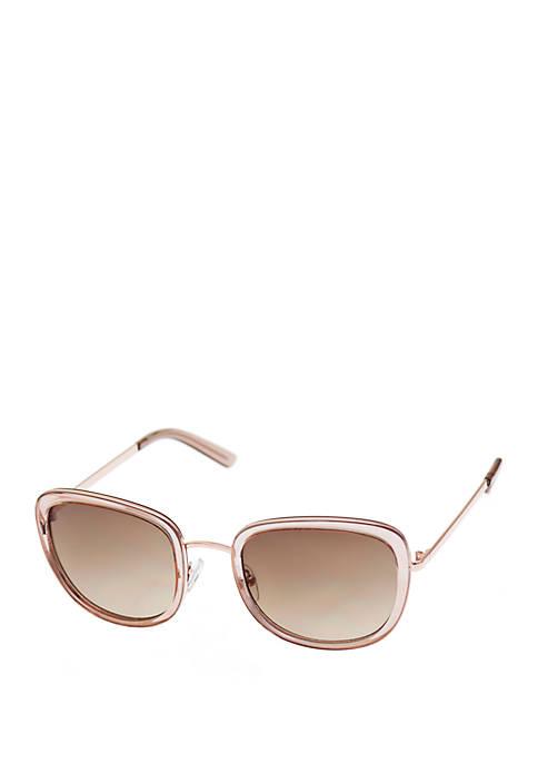 Combo Medium Rounded Square Sunglasses