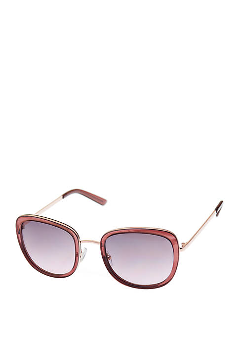 Combo Medium Rounded Square Sunglasses