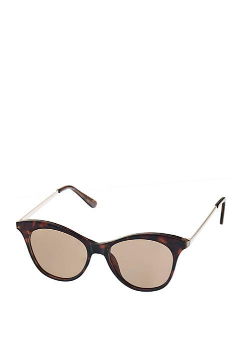 Combo Medium Modified Round Sunglasses
