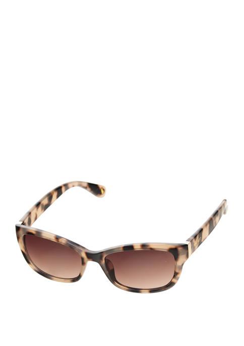 Plastic Small Rectangle Sunglasses