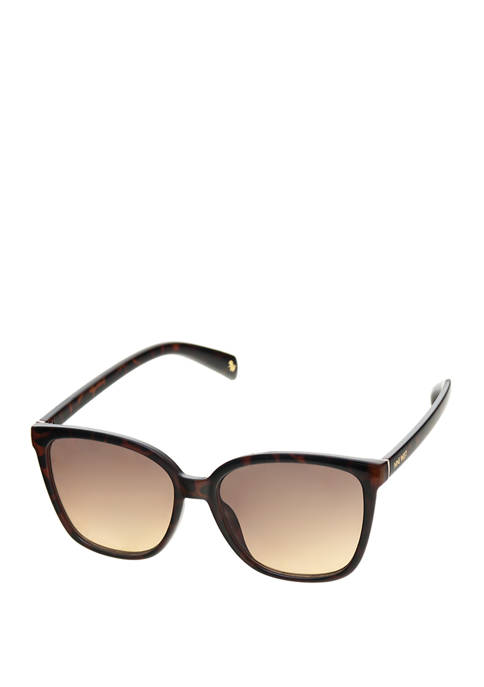 Medium Flat Square Wayfarer Sunglasses