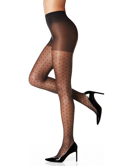 Berkshire Hosiery Polka Dot Patterned Pantyhose