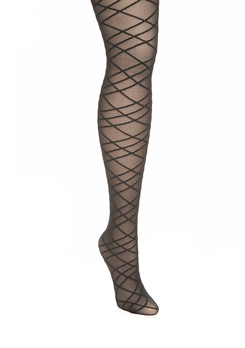 Berkshire Hosiery Variable Diamond Pantyhose
