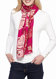 New Directions® Paisley Printed Pashmina Wrap