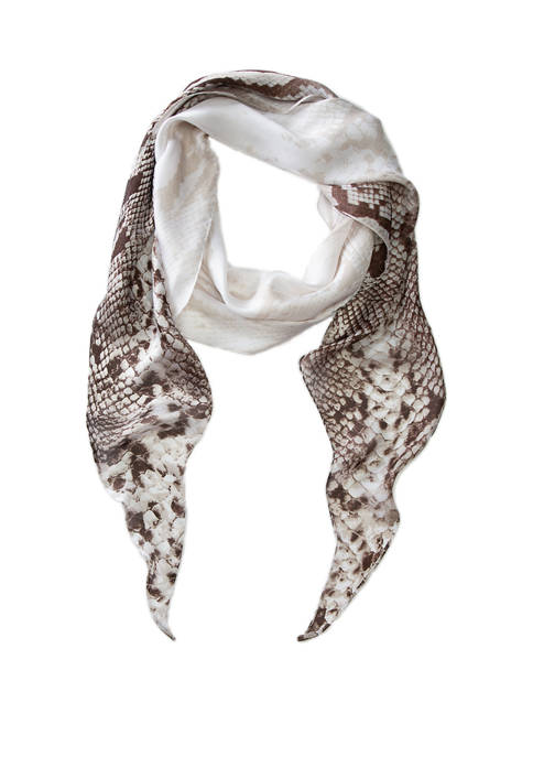 New Directions® Ombre Snake Kite Scarf
