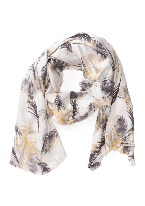 Accessory Street Floating Feathers Wrap
