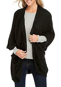 Pocket Knit Kimono Cardigan