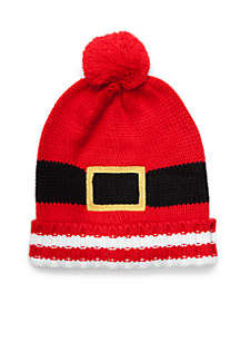 Belted Holiday Hat