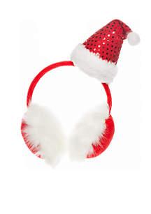 Santa Hat Earmuffs