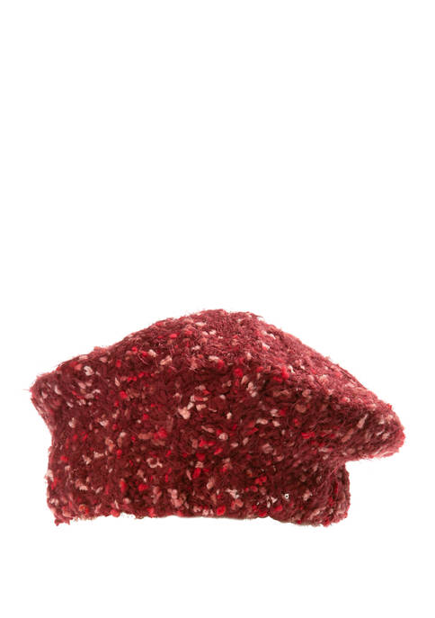 New Directions® Textured Space Dye Beret