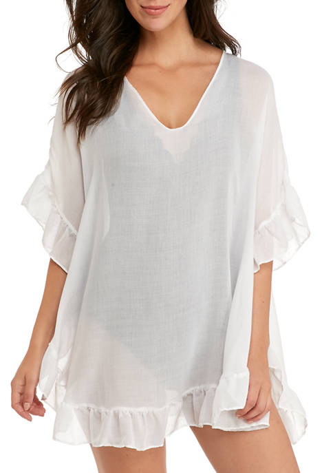 Accessory Street Ruffle Cover Up