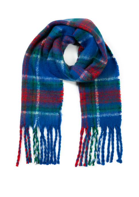 Collection XIIX Plaid Blanket Wrap Scarf