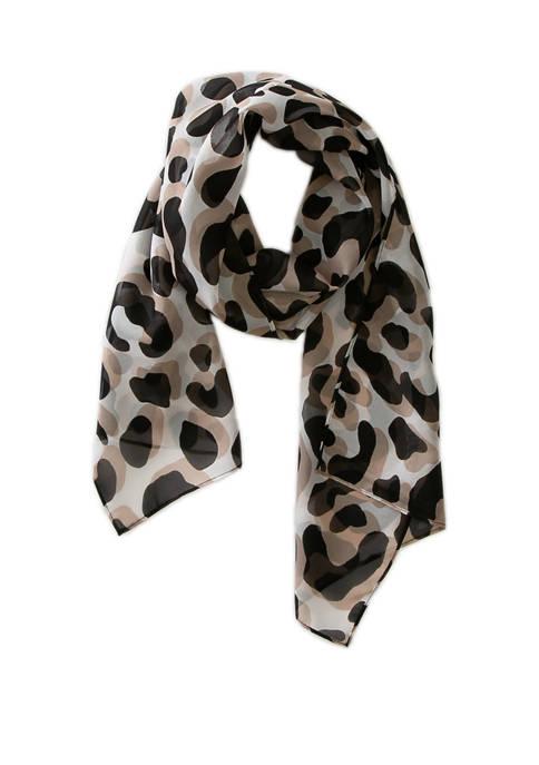 Modern Leopard Scarf