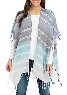 Kim Rogers® Stripe Tassel Topper