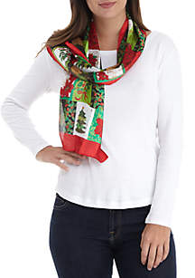 Holiday Patchwork Scarf