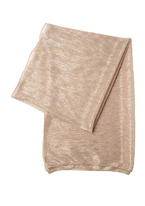 Cejon Mini Metallics Pleated Wrap