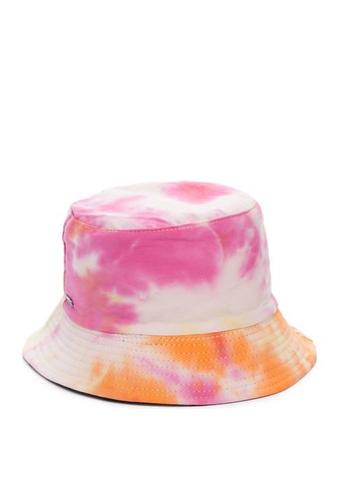 Betsey Johnson Tie Dye Bucket Hat