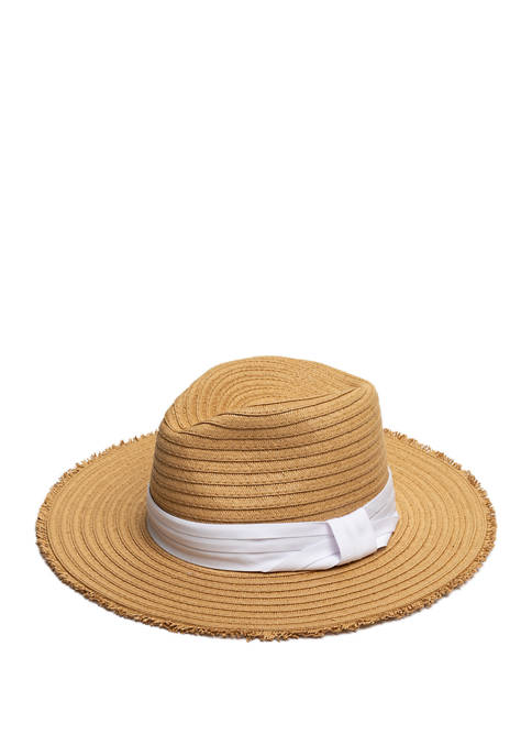 Cejon Panama Straw Hat with Solid Band